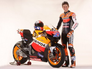 Casey Stoner with RC212V