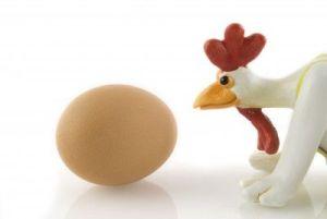 Telur sebuah persembahan dari AYAM