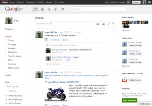 Google+ Jejaring Sosial Baru dari Google