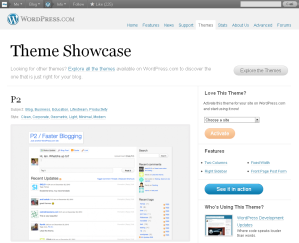 P2 Theme — WordPress.com