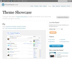 P2 Theme — WordPress.com