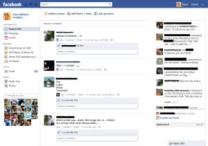 Facebook New Design ask you to be a smart stalker