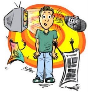 """Media massa bisa mempengaruhi gaya berpikir kita, bagaimana jadinya bila partai politik bisa """"mengangkangi"""" media massa ?"""