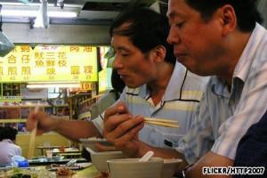 Di Taipei setiap orang bisa makan kapanpun, dimanapun dengan harga murah