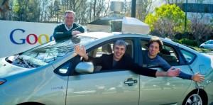 Karyawan Google bersama mobil otomatis ciptaannya