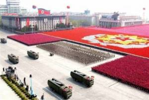 Negara Korea Utara yang kuat karena memiliki pemimpin yang tegas, gak lembek, dan memiliki pendirian yang kuat
