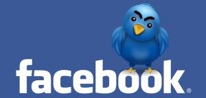Facebook dan Twitter berteman selamanya