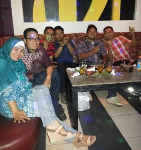 Selamat Berjuang Teddy Hexananta dan Rahmat Syaefullah
