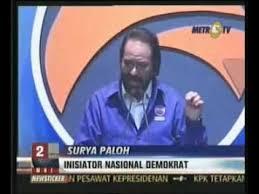 Surya Paloh Bos Metro TV dan Partai Nasdem